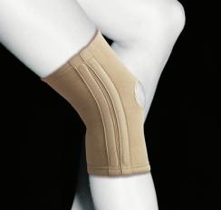 Бандаж коленный эластичный с боковыми вставками
