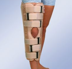 Тутор для иммобилизации коленного сустава