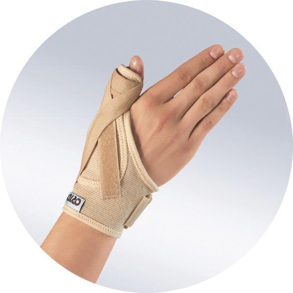 Бандаж на лучезапястный сустав (усиленная шина на 1 палец)