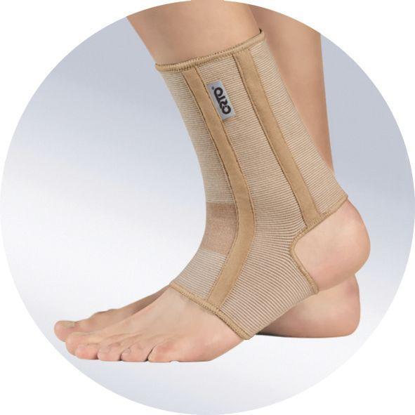 Бандаж на голеностопный сустав с ребрами жесткости