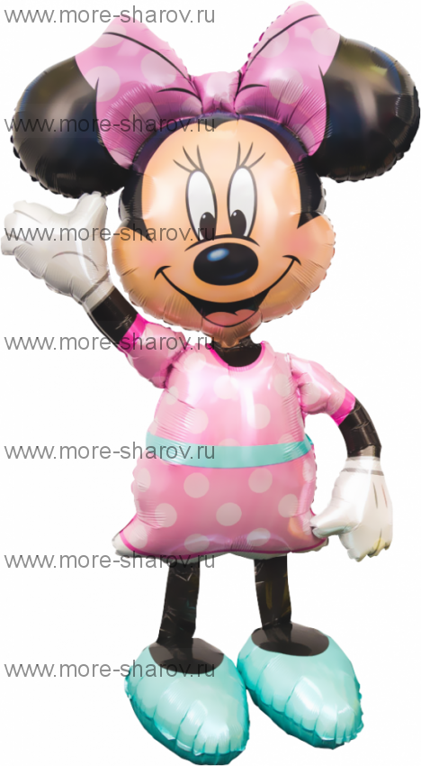 Шар-Ходячка Мини Маус 137 см