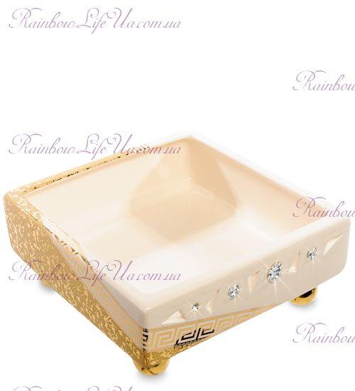 "Ваза Gold с кристаллами Swarovski ""Ahura"""