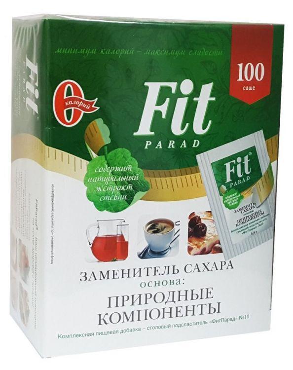 """Саше - """"ФитПарад"""" №10 0.5 г 100 шт"""
