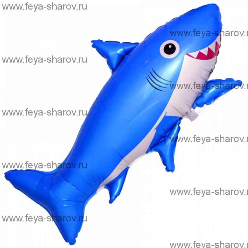 Шар Акула веселая 107 см