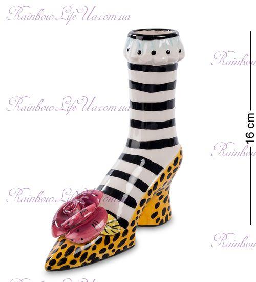 """Ваза туфелька """"Pavone"""""""