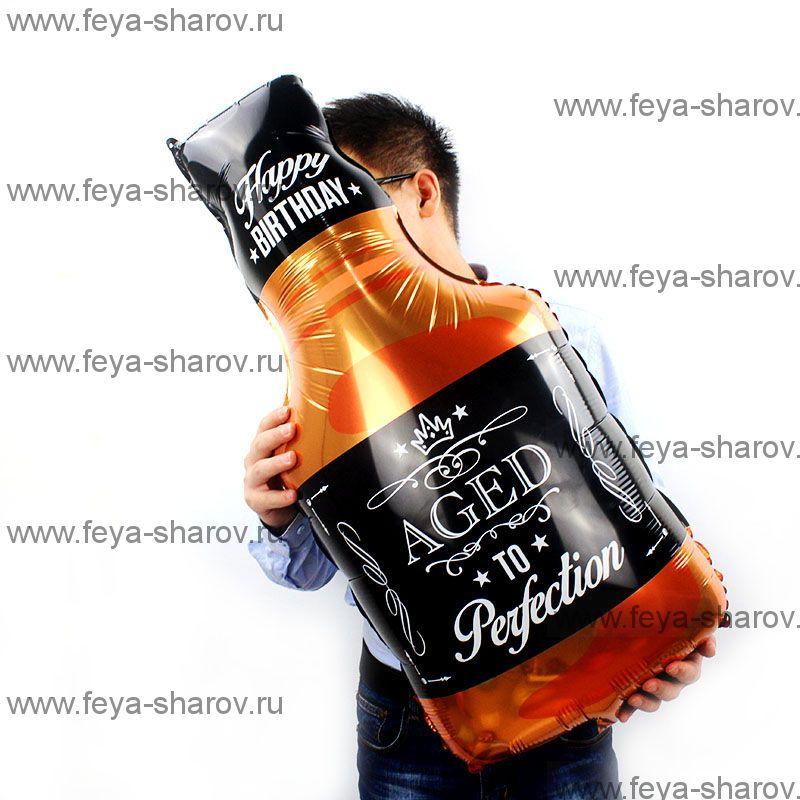 Шар Бутылка виски 81 см