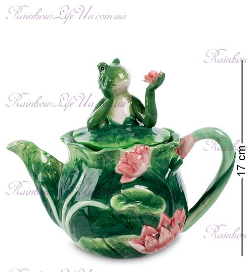 "Чайник заварочный лягушка ""Pavone"""