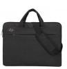 """Сумка-портфель для ноутбука 13,3"""" черный с рисунком"""