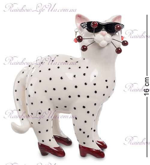 "Фигурка кошка Шанелли ""Pavone"""
