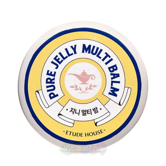 Etude House Многофункциональный бальзам для кожи Pure Jelly Multi Balm, 35 мл