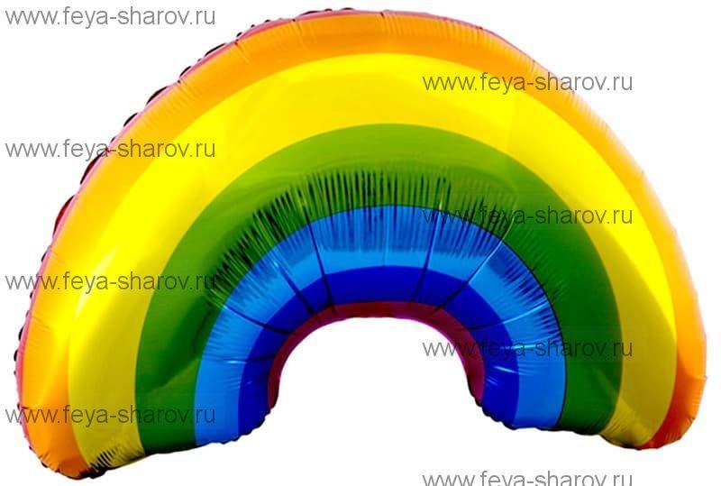 Шар Радуга 91 см