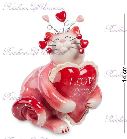 "Фигурка кот I Love you ""Pavone"""