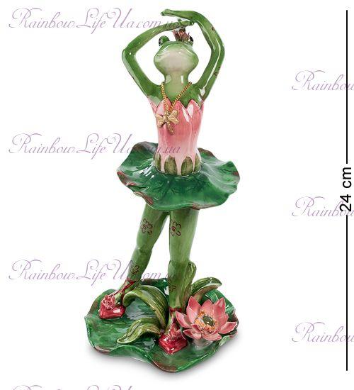 """Фигурка лягушка балерина """"Pavone"""""""