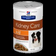 Hill's PD Canine k/d Renal Health Диетические консервы для собак при заболевании почек (Рагу), 354 гр