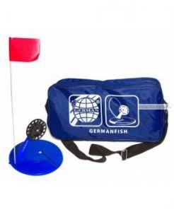 Жерлица в сумке German неоснащенная большая (10 шт) сумка синяя