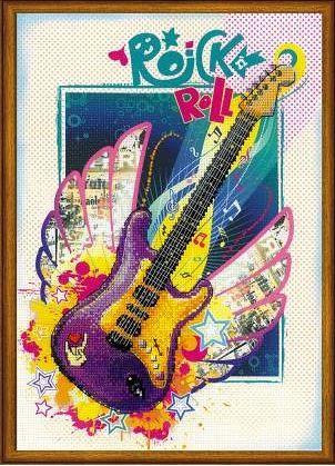 Набор для вышивания крестом Рок-н-ролл РТ 0042 фирма Риолис