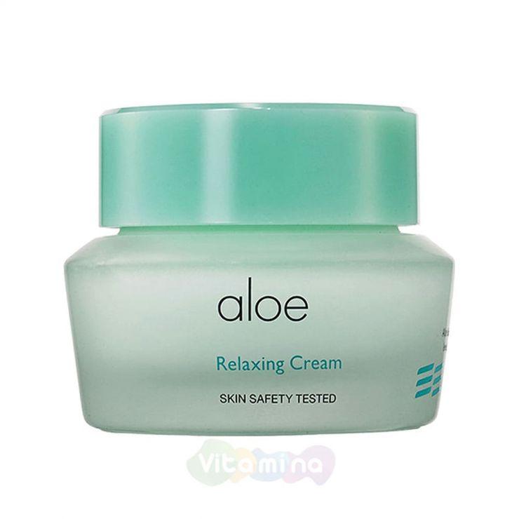It's Skin Успокаивающий крем для лица с экстрактом алоэ вера Aloe Relaxing Cream, 50 мл