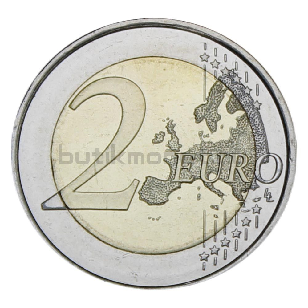 2 евро 2019 Испания ЮНЕСКО - Старый город Авила