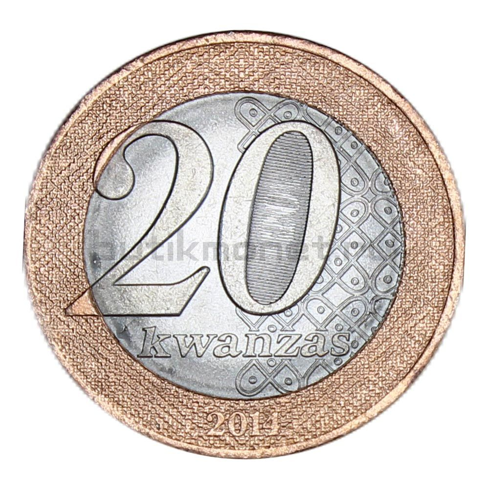 20 кванз 2014 Ангола