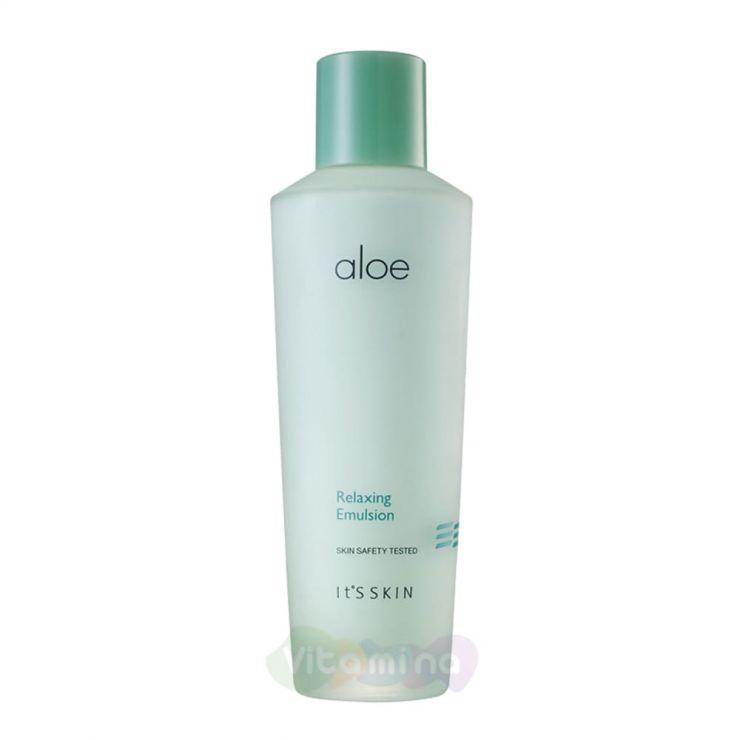 It's Skin Успокаивающая эмульсия с экстрактом сока алоэ вера Aloe Relaxing Emulsion, 150 мл