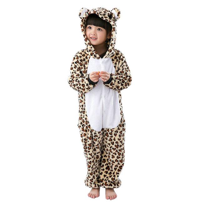 Пижама Кигуруми Детская Леопард_01