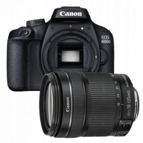 Canon EOS 4000D Kit 18-135mm IS