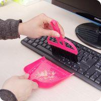 Набор мини-метёлка и совочек MINI DUSTPAN SET, Цвет Розовый (5)