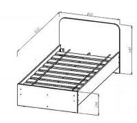 Детская кровать КР-113 Лайк
