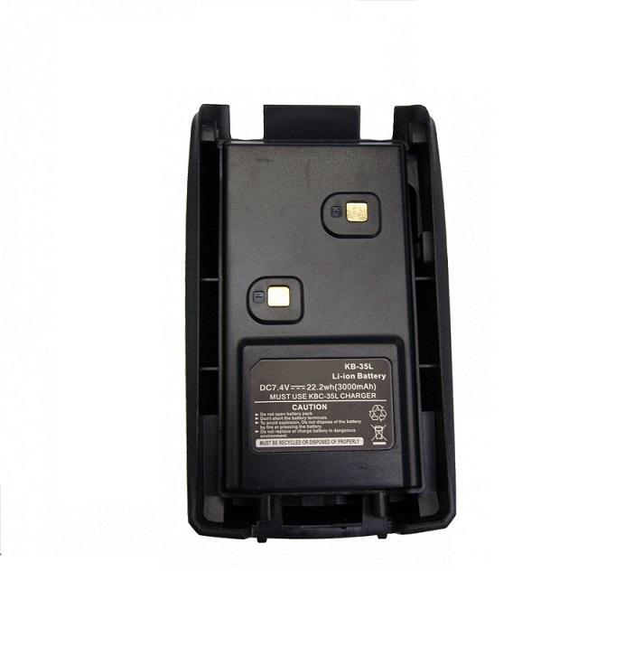 Аккумулятор KB-35L Li-ion 3000 mAh для раций TK-F6 Turbo и TK-UVF1 Turbo
