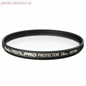 Фильтр KENKO 58S REALPRO PROTECTOR с влаго/грязе отталкивающим покрытием