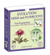 Evolution. Herbs and Mushrooms