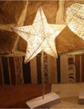 Подсветка ночник новогоднее украшение с огнями Звезда
