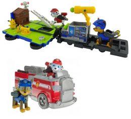 Щенячий патруль машинка Спасательная станция - трансформер Маршалл