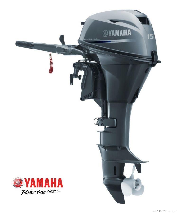 Лодочный мотор Yamaha F 15 CEHS - 4х-тактный