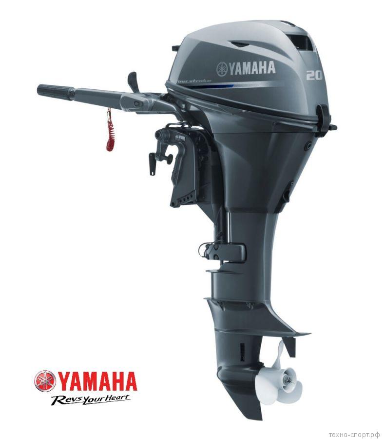 Лодочный мотор Yamaha F 20 BMHS - 4х-тактный