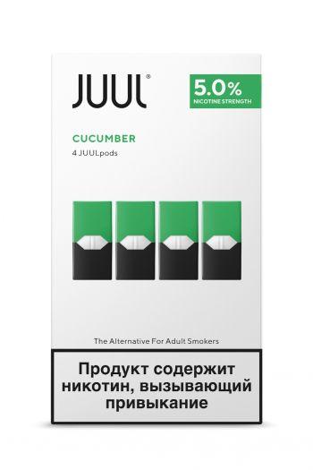 Картридж Juul Labs x4 JUUL Огурец (59 мг)