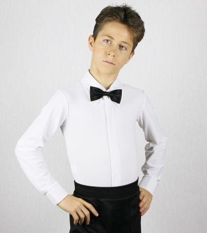 Белая рубашка для бальных танцев