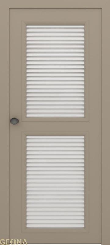 Дверь GL2/2 с жалюзи