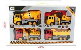 Детский набор строительных машин 4 в 1 Heavy Duty Truck