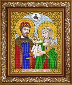 ИС-4025 Славяночка. Святые Петр и Феврония. А4 (набор 850 рублей)