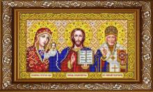 ИС-4059 Славяночка. Триптих в золоте. А4 (набор 800 рублей)