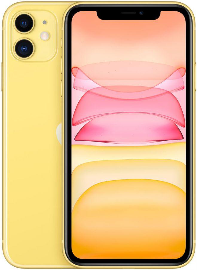 Apple iPhone 11 64Gb (Yellow) (MHDE3RU/A)