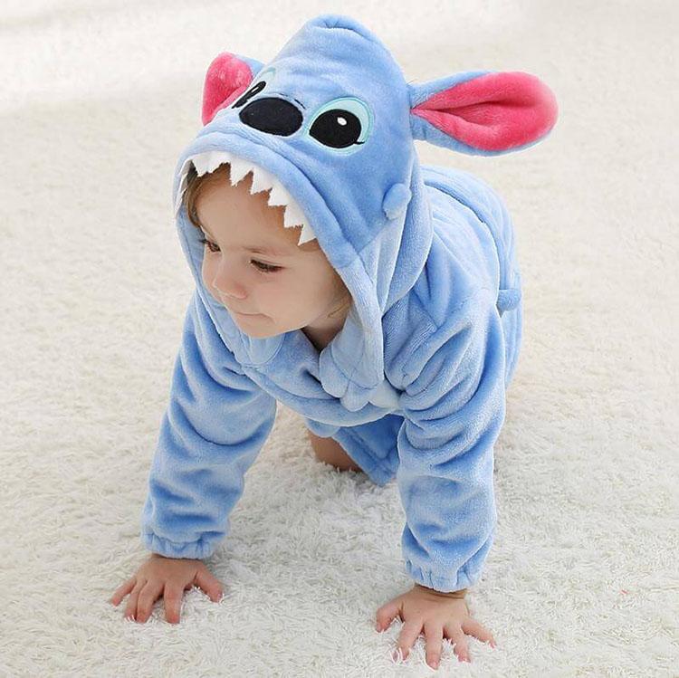 Пижама Кигуруми Детская Лило И Стич - Stitch_01