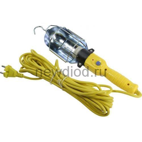 Светильник переноска, цоколь Е27, с проводом 10м (SBF-10-E27)/20