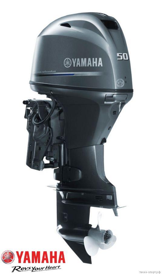 Yamaha F 50 HEТL - 4х-тактный лодочный мотор (Инжектор)