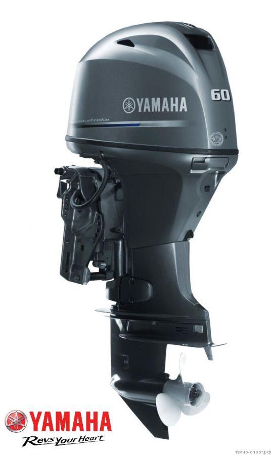 Лодочный мотор Yamaha F 60 FEТL - 4х-тактный