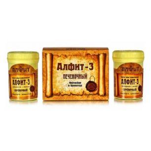 Алфит-3, печеночный, 60 брикетов по 2,0 гр
