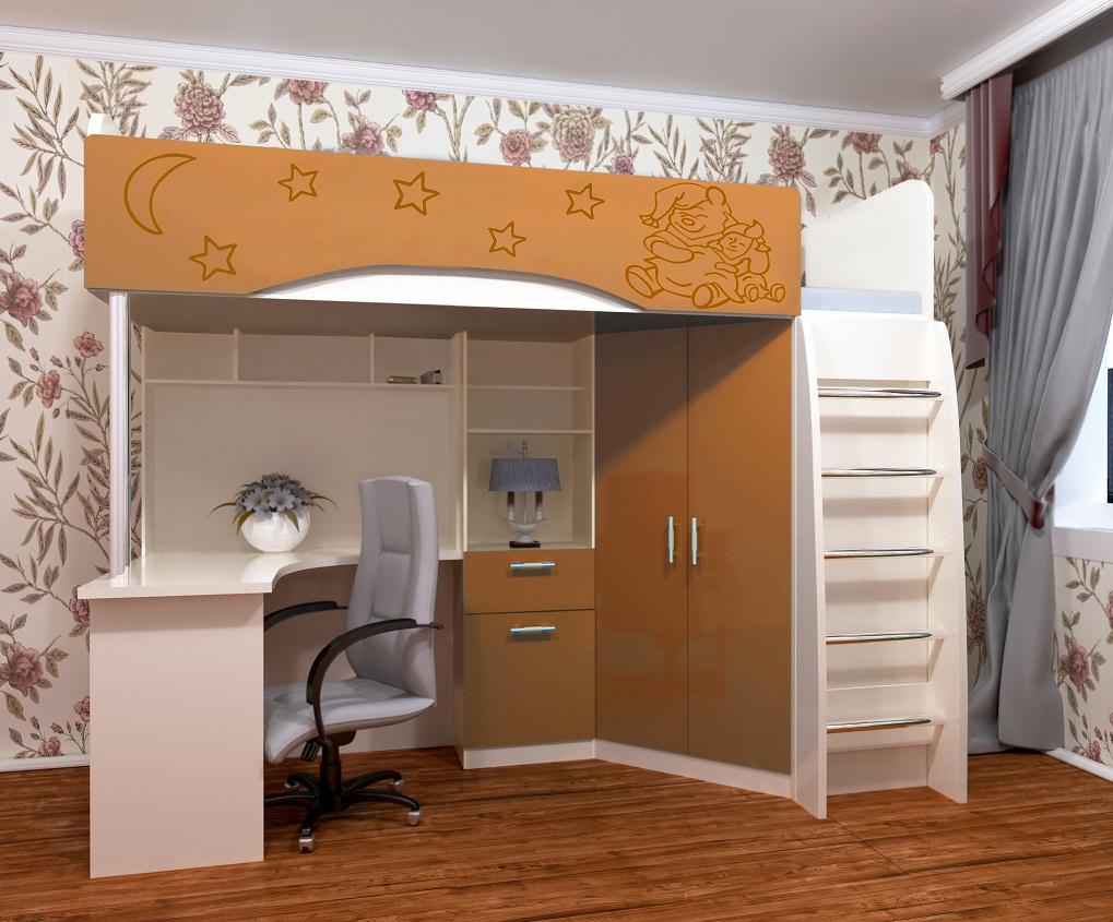 Кровать Бемби Винни (НАРУС)