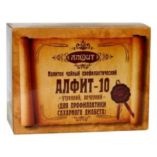 Алфит-10, для профилактики сахарного диабета, 120 гр