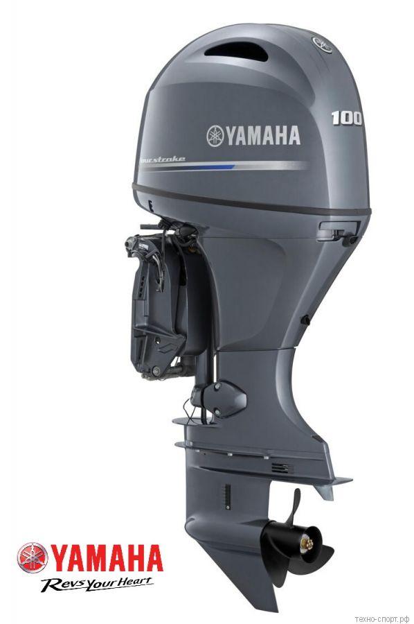 Лодочный мотор Yamaha F 100 FETL - 4х-тактный